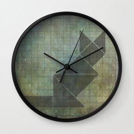 Wall Clock - Sphynx cat in geometry - Mari Biro