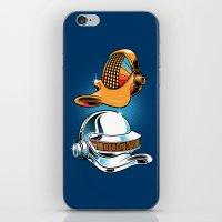 Daft Duck iPhone & iPod Skin