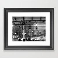Newcastle Central Statio… Framed Art Print