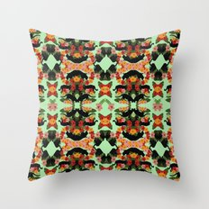 Panther Pattern  Throw Pillow