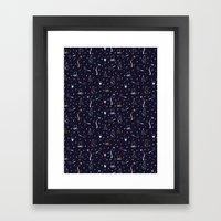 New Years Traditions Framed Art Print