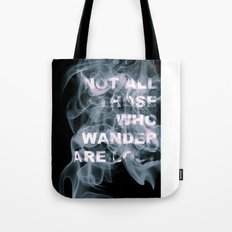 Smoke Quote Tote Bag