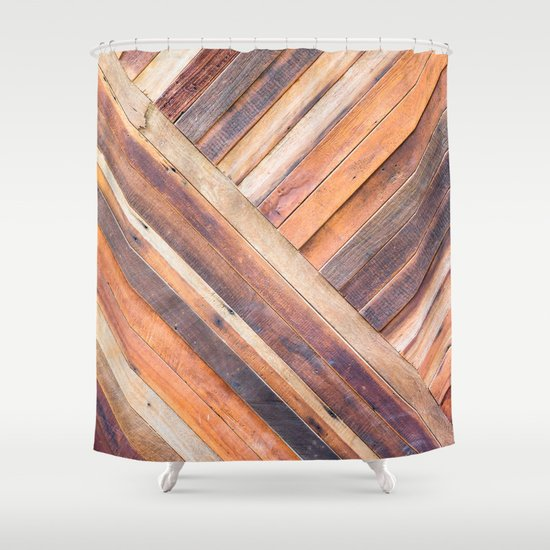 Kitchen Window Uptown Coffee Festival 2016: Old Wood Shower Curtain By Patterns And Textures