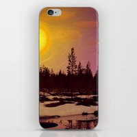 Day - From Day And Night Painting iPhone & iPod Skin