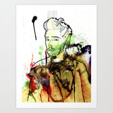 Life without freedom Art Print