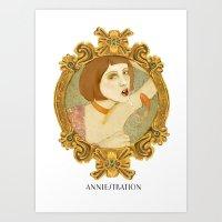 Smoked Fish (Anniestration Logo) Art Print