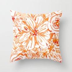 BIG SUNSHINE Floral Throw Pillow