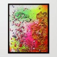 FallenWorlds Canvas Print
