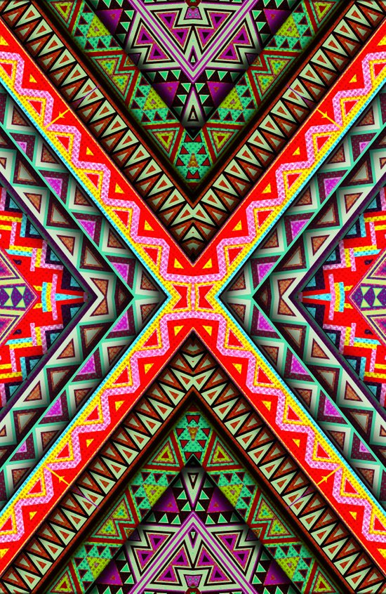X 3D Art Print
