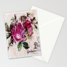 Poster Rose2 Stationery Cards