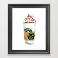 Starbucks Framed Art Print