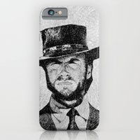iPhone & iPod Case featuring Blondie portrait #1 by Nicolas Jolly