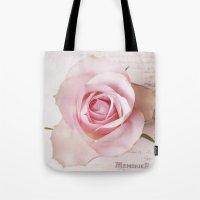 Memories Of A Rose  Tote Bag