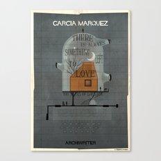 023_ARCHIWRITER_gabriel garcia marquez Canvas Print