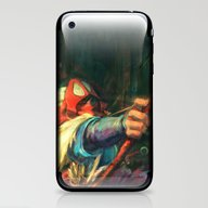iPhone & iPod Skin featuring The Young Man From The E… by Alice X. Zhang