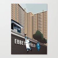 Ther Used To Be A Ballpa… Canvas Print