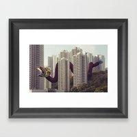 遙遠的呼應 / Distan… Framed Art Print