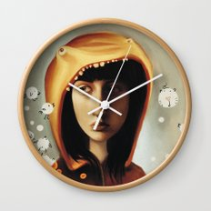Little Hungry Wall Clock