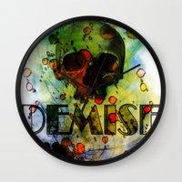 Toxic Demise Wall Clock