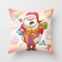 A Christmas Gift From Ha… Throw Pillow