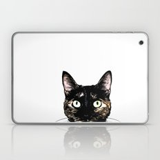 Peeking Cat Laptop & iPad Skin