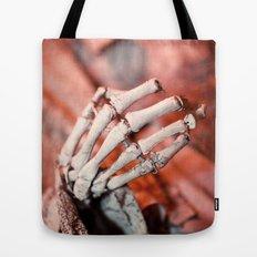 Broken Fingers Form Broken Chords Tote Bag