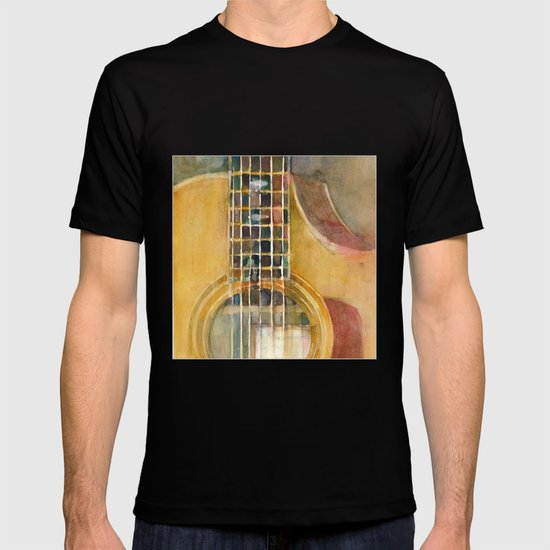 taylor guitar t shirt by dorrie rifkin watercolors society6. Black Bedroom Furniture Sets. Home Design Ideas