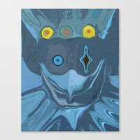 The Dog Star Canvas Print
