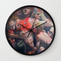 Orgía Caníval Wall Clock