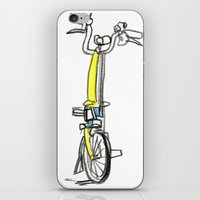 Brompton Front View iPhone & iPod Skin