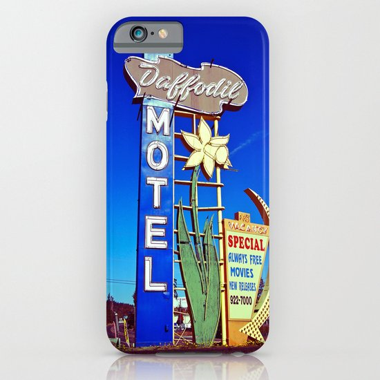 Daffodil Motel sign iPhone & iPod Case