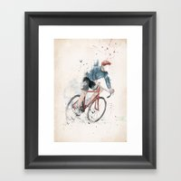 I Want To Ride My Bicycl… Framed Art Print