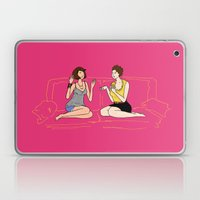 girl talk Laptop & iPad Skin