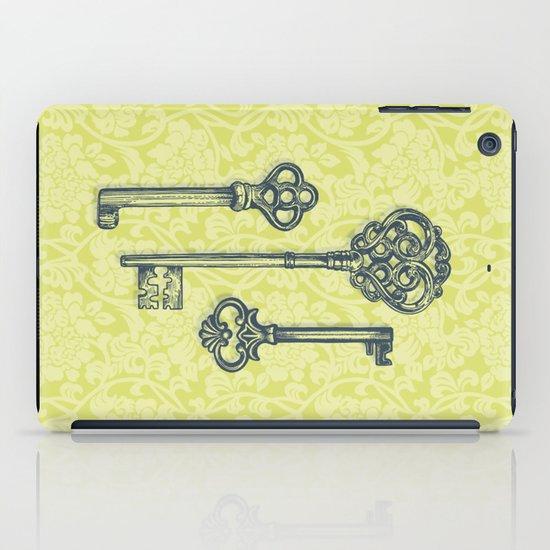 Three Skeleton Keys iPad Case