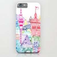 iPhone & iPod Case featuring New Zealand Towers  by cheism