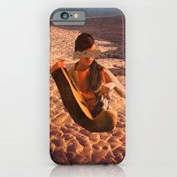 iPhone & iPod Case featuring Sand Woman by Alicia Ortiz
