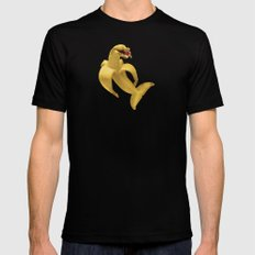 Fruit Fish SMALL Mens Fitted Tee Black