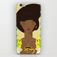 That first cup of coffee feeling iPhone & iPod Skin