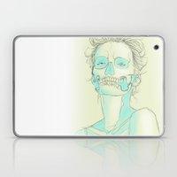 Lady Skull Laptop & iPad Skin