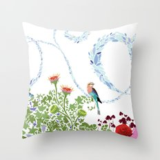 Meadow scene (full) Throw Pillow