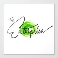 The Enterprise Canvas Print