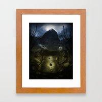 Valley Of Masks Framed Art Print