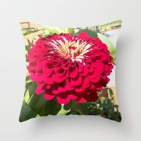 Mum's The Word Throw Pillow