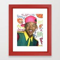 Fresh Prince Of Bel Air … Framed Art Print