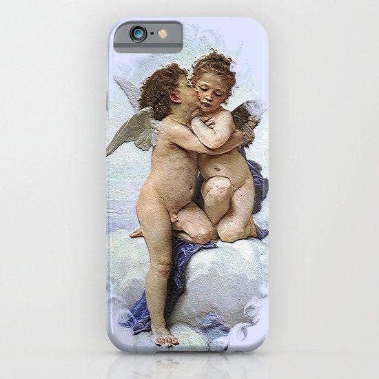 Bouguereau-First Kiss iPhone & iPod Case