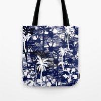 Blue Tree Tote Bag