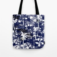 Blue Tree Tote Bag
