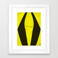 Silk Spectre Framed Art Print