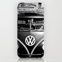 volkswagen bus & german beer  iPhone 6 Slim Case