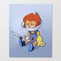 Lion-Ow Canvas Print